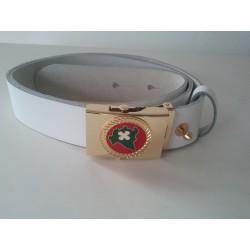 Cintura in pelle con Logo Regionale