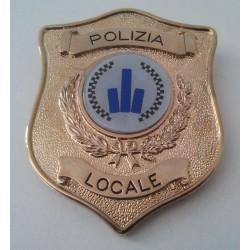 Placca Polizia Locale Emilia Romagna