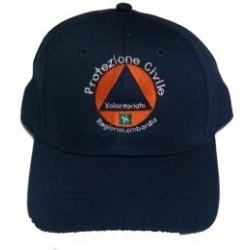 Berretto baseball Volontari Protezione Civile